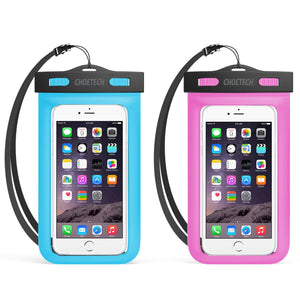 2Pack Universal Waterproof Case with Neck Strap - CHOETECH OFFICIAL