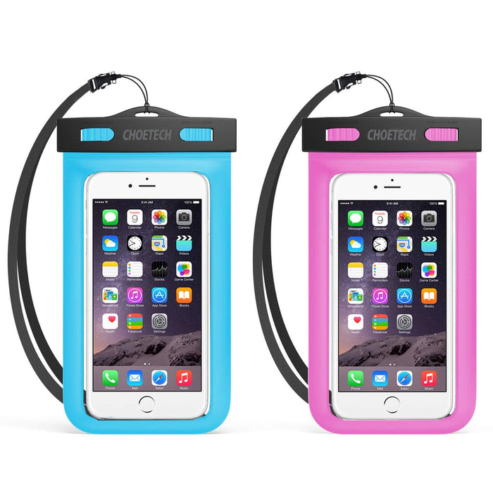 2Pack Universal Waterproof Case with Neck Strap
