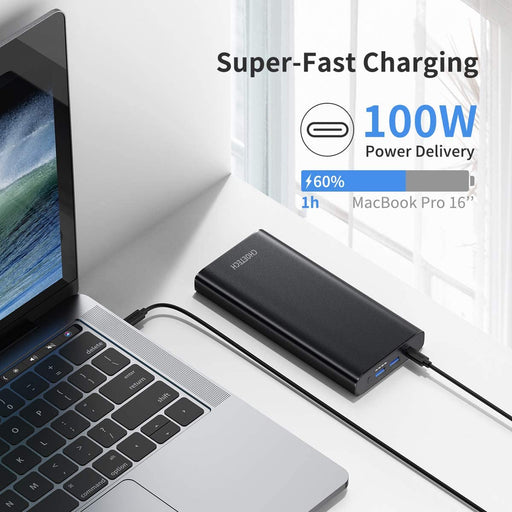 CHOETECH Portable Charger 26800mAh 100W PD 3.0 USB-C Power Bank  B634 CHOETECH