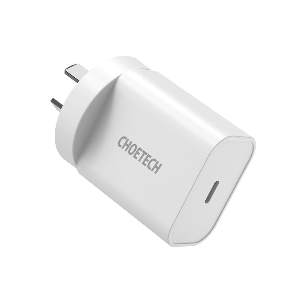 CHOETECH PD Fast Charger Ultra-Compact Type C Wall Charger 20W Compatible iPhone 12 Pro Max/12 Mini/11 Pro Max/SE/X/XS/XR/8 Plus, iPad Pro, Pixel 3/4, Galaxy S10+/S10/S9, LG and More CHOETECH