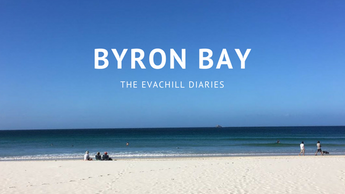 Evachill goes to Byron Bay