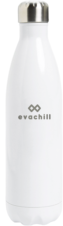 Keep drinks cold for 24 hours in an Evachill reusable bottle