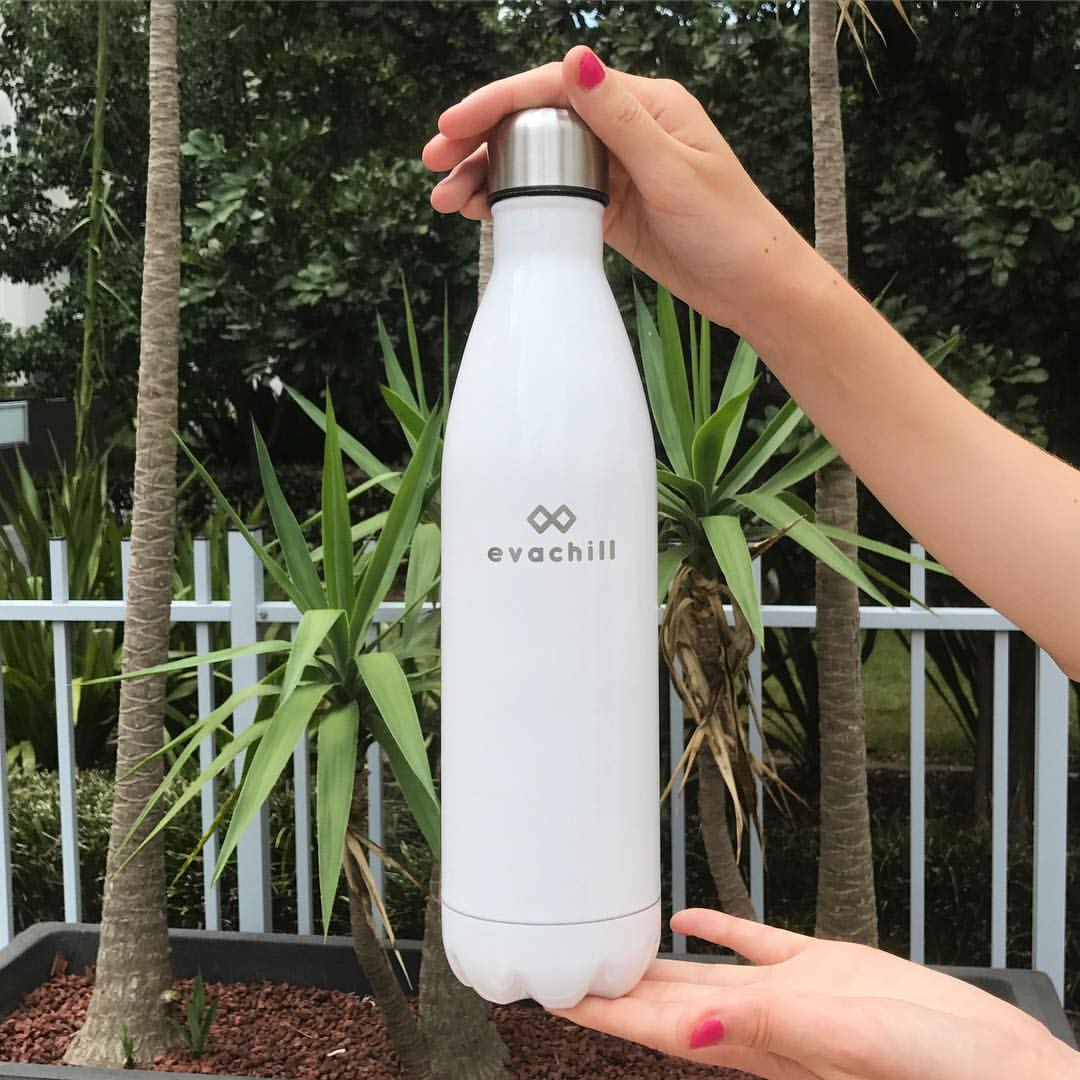 Stay hydrated all day with an Evachill bottle