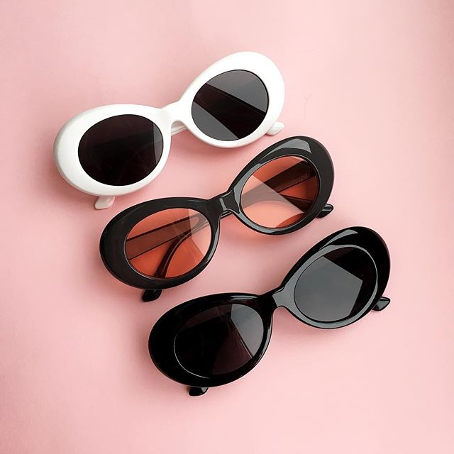 Mens & Womens Retro Oval Clout Goggles Nirvana Kurt Cobain Style Sunglasses Shades - southcoastshades