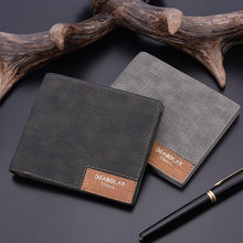2019 minimalist men's short wallet retro youth wallet ultra-thin men's cross-section wallet men's wallet wholesale price - southcoastshades