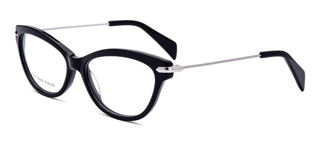 Cat-Eye Women's Retro Glasses Frame Eye Wear - southcoastshades