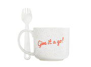 Gemma's Mug Meals Mug & Spork Set for Microwave Meals Fast
