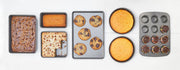 Bigger Bolder Baking 7-Piece Non-Stick Carbon Steel Bakeware Set