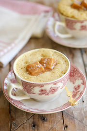 Gemma's Mug Meals, Microwave Mug Meals, Mug Meals, Mug Cakes, Gemma Stafford, Bigger Bolder Baking, e-book, Gemma's Mug Meals e-book, ebook, Microwave Recipes, Salted Caramel Mug Cake