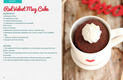 Gemma's Mug Meals, Microwave Mug Meals, Mug Meals, Mug Cakes, Gemma Stafford, Bigger Bolder Baking, e-book, Gemma's Mug Meals e-book, ebook, Microwave Recipes, Red Velvet Mug Cake