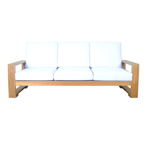 Capistrano Deep Seating Sofa - American Teak