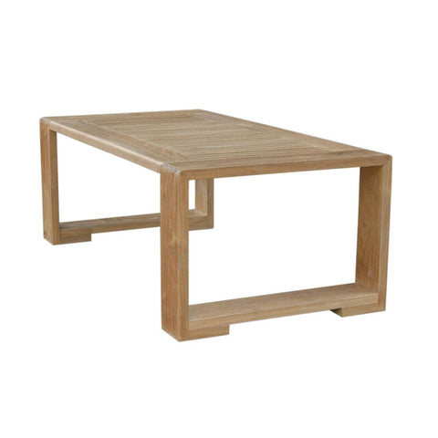 Capistrano Rectangular Coffee Table - American Teak