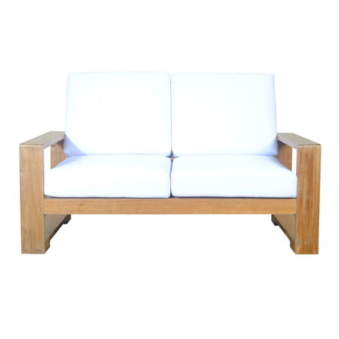 Capistrano Deep Seating Loveseat - American Teak