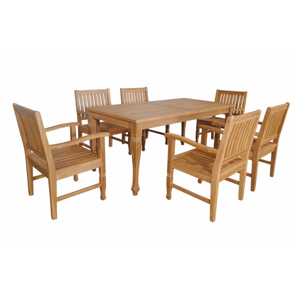 Rockford 7-Piece Dining Set - American Teak
