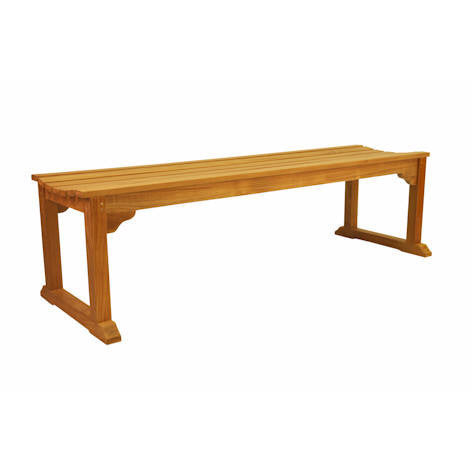 Anderson Teak Mason 3-Seater Backless Bench - American Teak