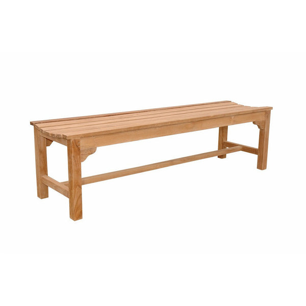 Anderson Teak Hampton 3-Seater Backless Bench - American Teak