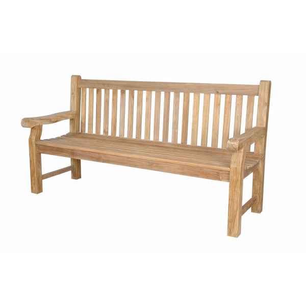 Anderson Teak Devonshire 4-Seater Extra Thick Bench - American Teak