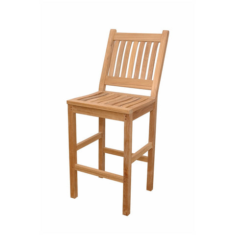 Anderson Teak Avalon Bar Chair - American Teak