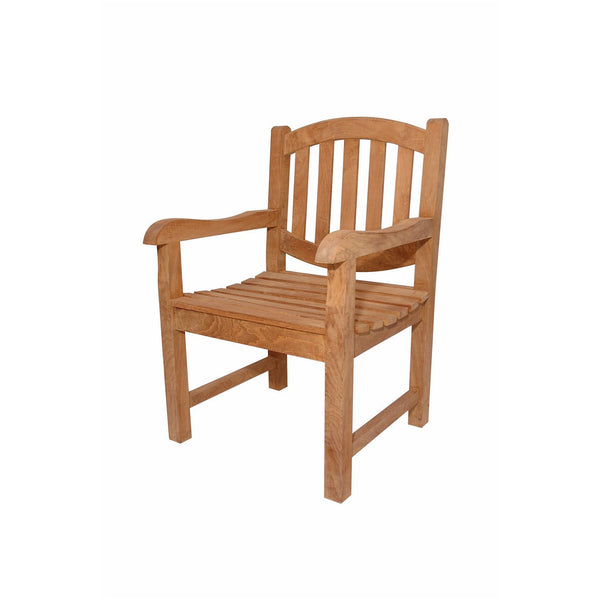 Anderson Teak Kingston Dining Armchair - American Teak