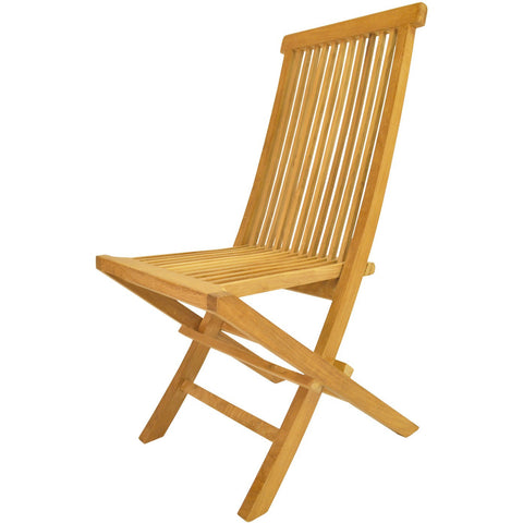 Anderson Teak Classic Folding Chair - (Set of 2) - American Teak