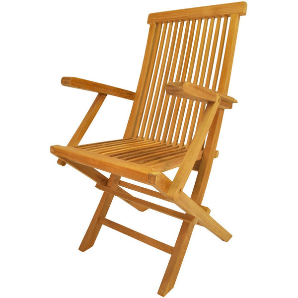 Anderson Teak Classic Folding Armchair - (Set of 2) - American Teak