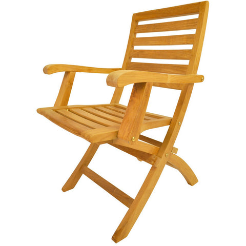 Anderson Teak Andrew Folding Armchair (Set of 2) - American Teak