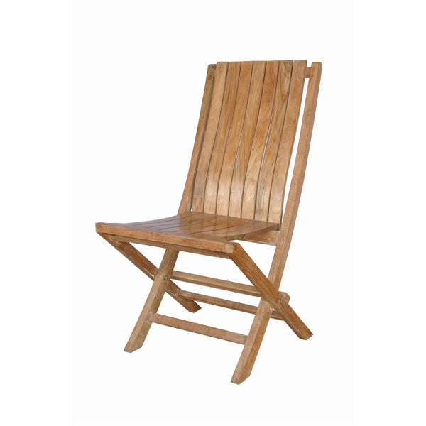 Anderson Teak Comfort Folding Chair (Set of 2) - American Teak