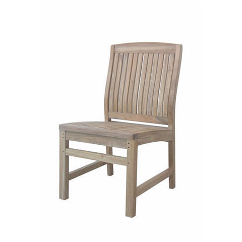 Anderson Teak Sahara Non Stack Dining Side Chair - American Teak