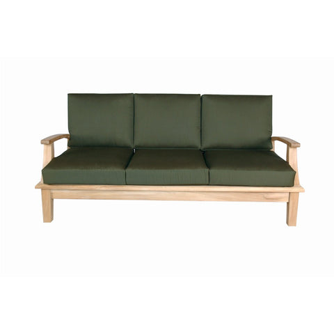 Anderson Teak Brianna Deep Seating Sofa + Cushion - American Teak