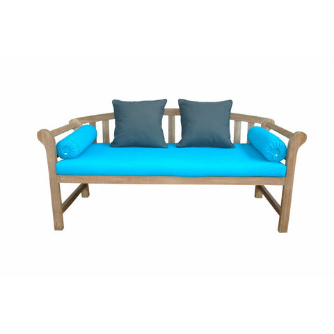 Anderson Teak Brisbane Deep Seating Bench with Cushion - American Teak