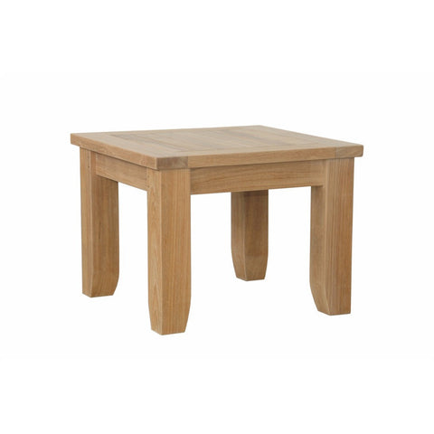 Anderson Teak Luxe Square Side Table - American Teak