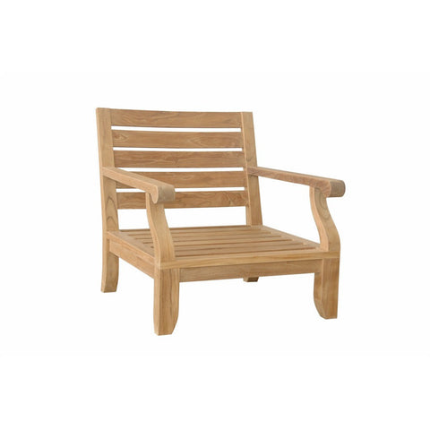 Anderson Teak Riviera Luxe Armchair with Cusion - American Teak