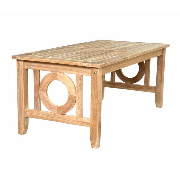 Natsepa Rectangular Coffee Table - American Teak