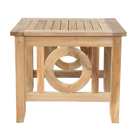Natsepa Square Side Table - American Teak