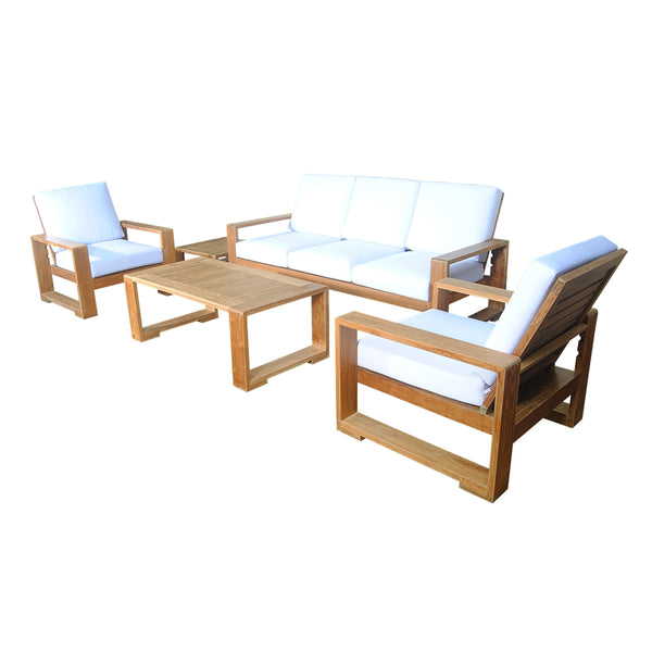 Capistrano 5-Piece Deep Seating Sofa Collection - American Teak