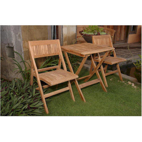 Anderson Teak Windsor Folding Picnic Table Set - American Teak
