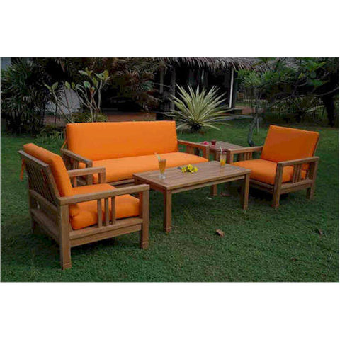 Anderson Teak SouthBay Deep Seating Collection (SET-252) - American Teak