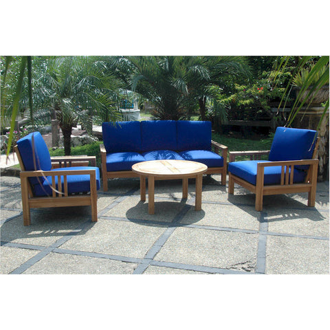 Anderson Teak SouthBay Deep Seating Collection (SET-255) - American Teak