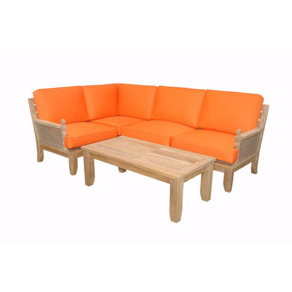 Anderson Teak Luxe Modular Seating Collection - American Teak