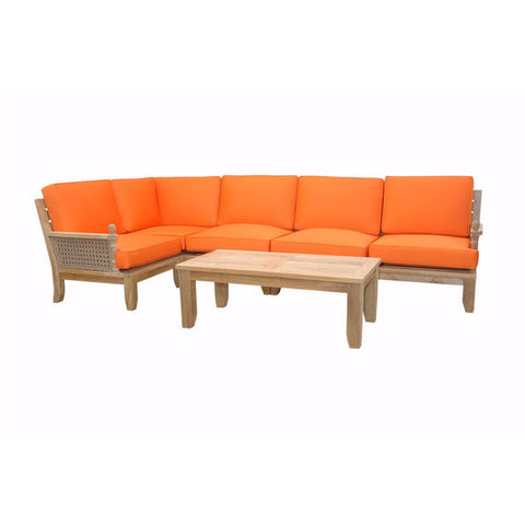 Extended Luxe Modular Seating Collection - American Teak
