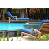 Anderson Teak Brianna Sun Lounger with Arm - American Teak