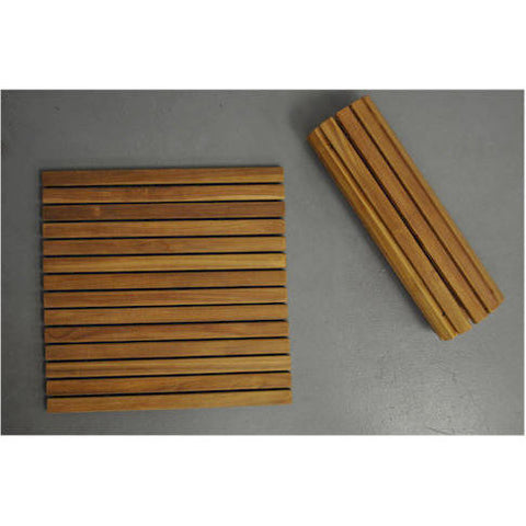 Anderson Teak Shower Mat Roll It & Go! - American Teak
