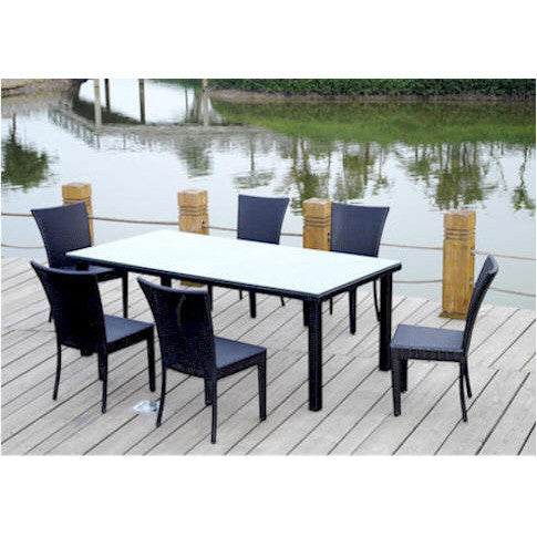 Anderson Teak Sheraton Dining Table Set - American Teak