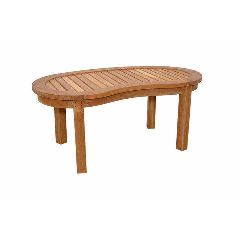 Anderson Teak Kidney Table (Curve Table) - American Teak