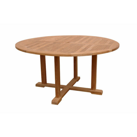 Anderson Teak Tosca 5-Foot Round Table - American Teak
