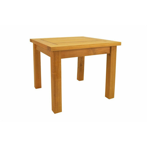 "Anderson Teak Bahama 20"" Square Mini Table - American Teak"