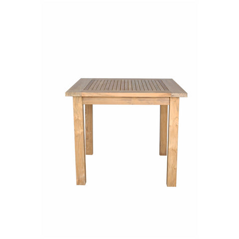 "Anderson Teak Windsor 35"" Square Table Small Slats - American Teak"