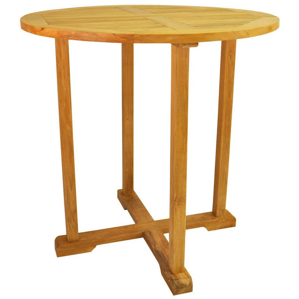 "Anderson Teak Bahama 39"" Round Bar Table - American Teak"