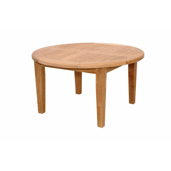 "Anderson Teak Brianna 35"" Round Coffee Table - American Teak"