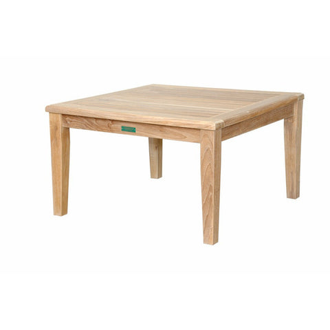 "Anderson Teak Brianna 32"" Square Coffee Table - American Teak"